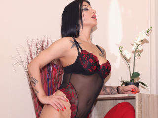 Picture of the sexy profile of KellyTatoo, for a very hot webcam live show !